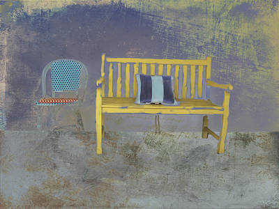 Chair And Bench Poster
