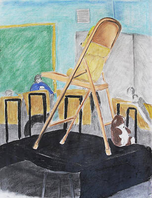 Chair Life Study Poster