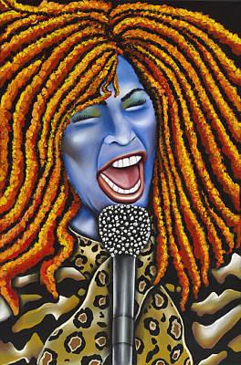 Chaka Poster by Nannette Harris