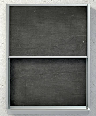 Chalk Board Render Poster