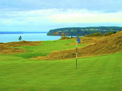 Chambers Bay Golf Course Poster