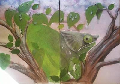 Chameleon Parsonii Poster