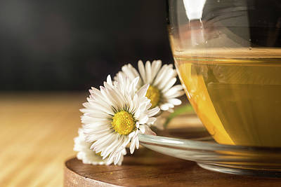Poster featuring the photograph Chamomile by Traven Milovich