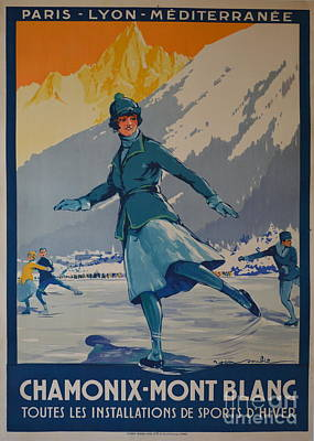 Chamonix Mont Blanc Poster by Pd