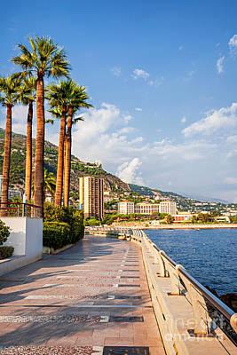 Champions Promenade In Monaco Poster