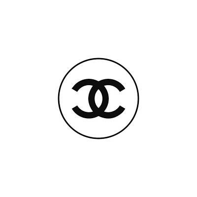 Chanel - Black N White Poster