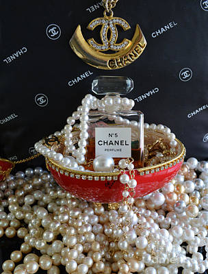 Chanel No 5 And Egg Poster