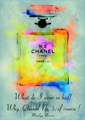 Chanel No.5  Poster by Diana Van