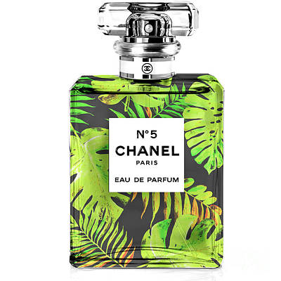 Chanel Perfume Tropical Poster