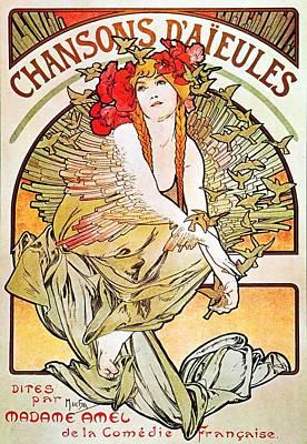 Chansons D'aieules Poster