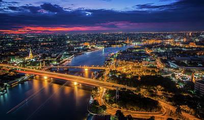Chao Phraya River Poster