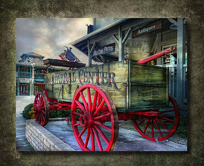 Chaparral Wagon Poster