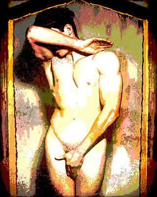 Chapel Fresco Poster