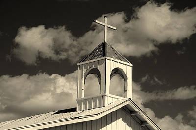 Chapel In Old Tuscon Arizona Poster