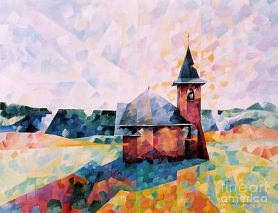 Chapelle De My Poster by Beatrice BEDEUR