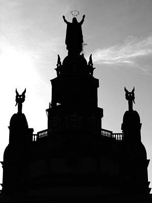 Chapelle Notre Dame De Bon Secours Poster by Robert Knight