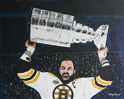 Chara And The Cup Poster by Betty-Anne McDonald