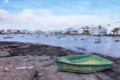 Charco San Gines - Lanzarote Poster