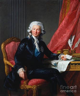Charles-alexandre De Calonne Poster by Celestial Images