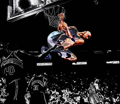 Charles Barkley Hanging Around II Poster by Brian Reaves