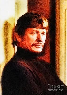 Charles Bronson, Vintage Actor By John Springfield Poster
