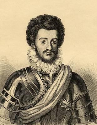 Charles De Guise, Duc De Mayenne Poster by Vintage Design Pics