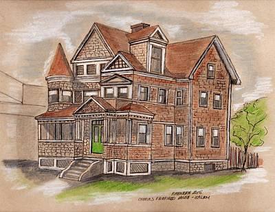 Charles Fairfield House Salem Poster