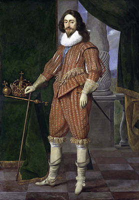 Charles I, King Of England Poster by Daniel Mijtens