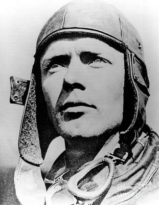 Charles Lindbergh, American Aviator Poster by Science Source