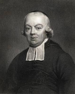 Charles Michel De L Ep E.1712-1789, Abb Poster