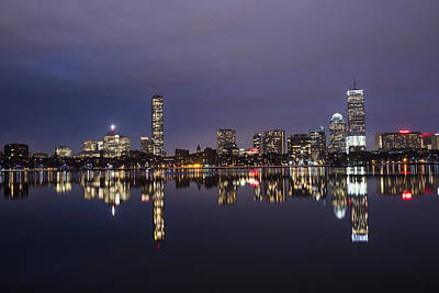 Charles River Clear Water Reflection Poster by Toby McGuire