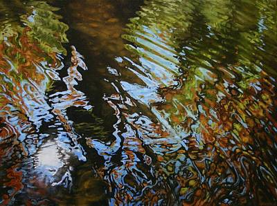 Charles River Reflections Poster by Jason Sawtelle