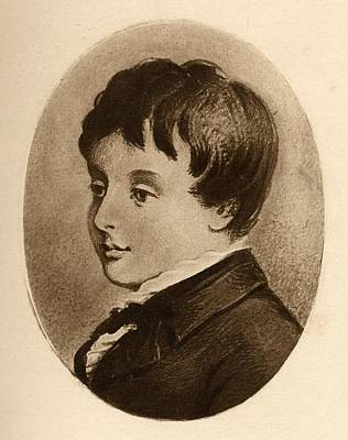 Charles Stewart Parnell Aged 8 Poster by Vintage Design Pics