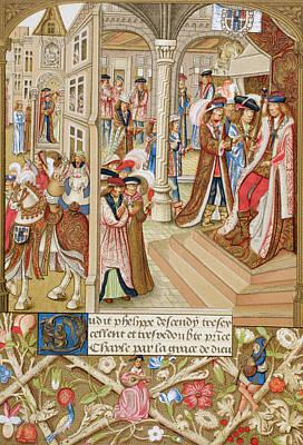 Charles The Bold, Duke Of Poster