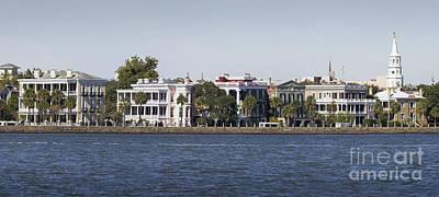 Charleston Battery Row Panorama 2 Poster