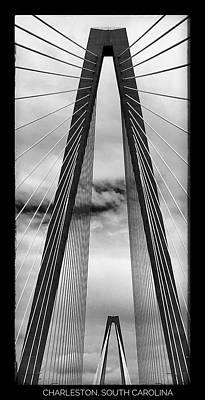 Charleston Bridge Poster by Bonnes Eyes Fine Art Photography