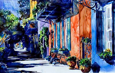 Charleston Dreaming Poster by Trish McKinney