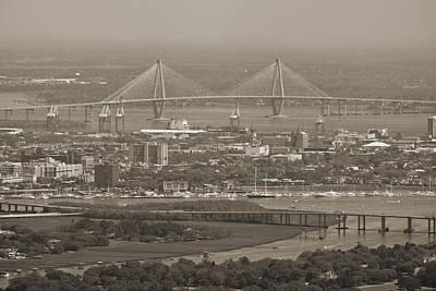 Charleston South Carolina Aerial Poster