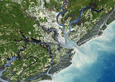 Charleston, South Carolina, Usa Poster