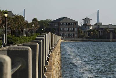Charleston South Carolina Waterfront Battery Poster