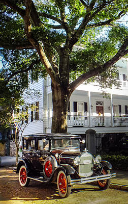 Charleston Vintage Poster by Karen Wiles