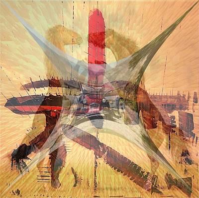 'charlestonbirht2horses' Poster by Vincent Messelier