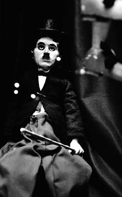 Charlie Chaplin Marionette Poster