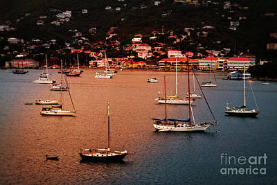 Charlotte Amalie, St. Thomas Poster by Jarrod Erbe