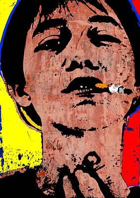 Charlotte Gainsbourg Poster by Otis Porritt
