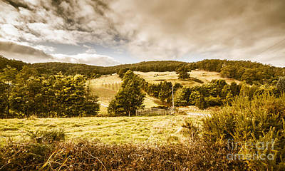 Charming Outback Country Setting Poster by Jorgo Photography - Wall Art Gallery