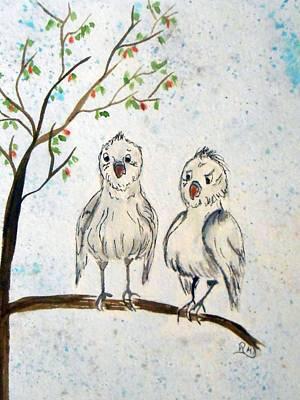 Chatty Birdies Poster