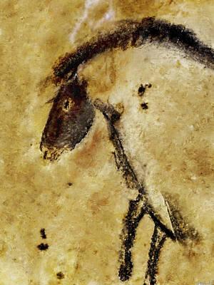 Chauvet Horse Poster
