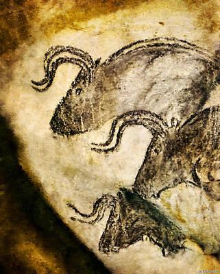Chauvet - Three Aurochs Poster
