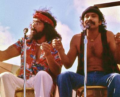 Cheech And Chong Of Old Poster